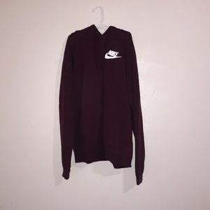 Nike maroon hoodie 🤩!